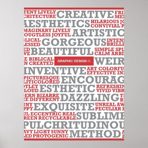"""El """"diseño gráfico es """" impresiones"""