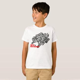El diseño listo de la camiseta de las máquinas de