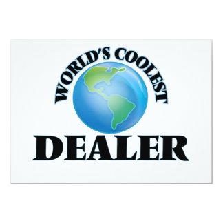 El distribuidor autorizado más fresco del mundo invitación 12,7 x 17,8 cm