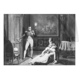 El divorcio de Napoleon I Tarjeta De Felicitación