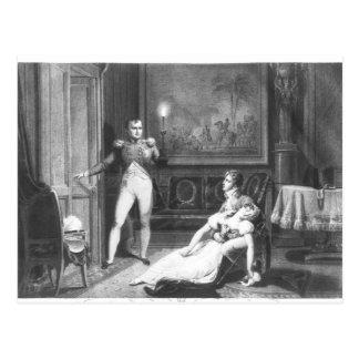 El divorcio de Napoleon I Tarjeta Postal