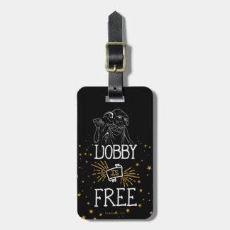 El Dobby de Harry Potter el | está libre Etiqueta Para Maletas