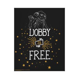 El Dobby de Harry Potter el   está libre Impresión En Lienzo