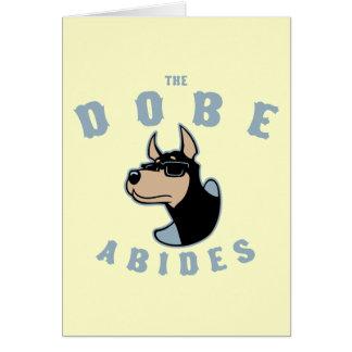 El Dobe respeta Tarjeta De Felicitación