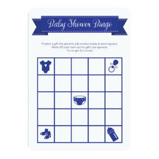 El doble del juego del bingo de la fiesta de invitación 12,7 x 17,8 cm