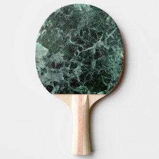 El doble echó a un lado paleta del ping-pong del pala de ping pong