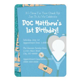 El doc. está en la invitación del cumpleaños -