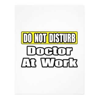 El doctor At Work Flyer Personalizado