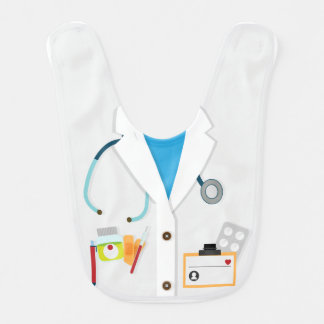 El doctor Baby Bibs Babero Para Bebé