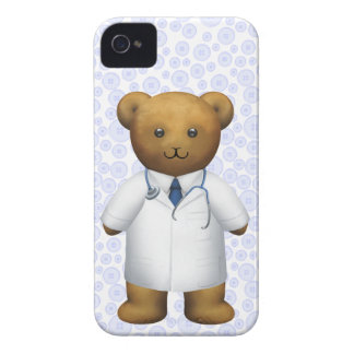 El doctor Bear - oso de peluche iPhone 4 Coberturas