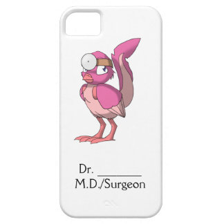 El doctor Berry Yogurt Reptilian Bird iPhone 5 Case-Mate Fundas