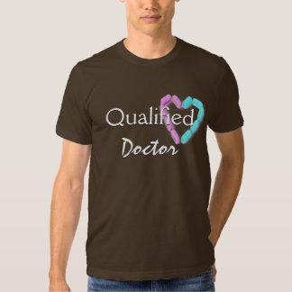 El doctor calificado In Brown Camiseta