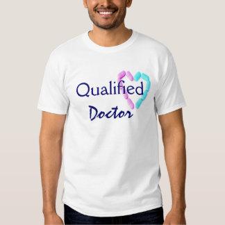 El doctor calificado In Dirty Blue Camiseta