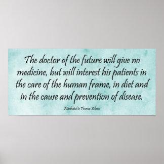 El doctor del futuro - impresión de la cita de Edi