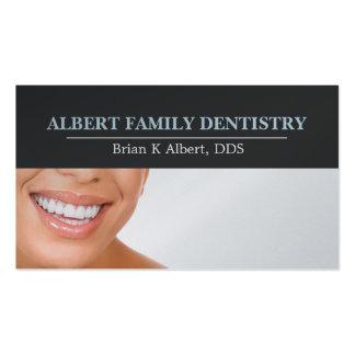 El doctor dental Smile Business de la odontología Plantilla De Tarjeta Personal