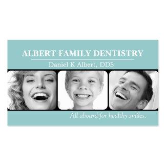 El doctor dental Smile Business de la odontología Plantilla De Tarjeta De Negocio