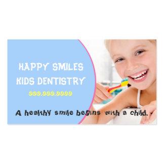El doctor dental Smile de la odontología del denti Tarjetas De Visita