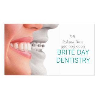 El doctor dental Teeth Smile de la odontología del Tarjetas De Visita