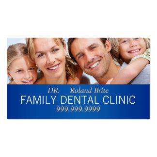 El doctor dental Teeth Smile Family de la Tarjetas De Visita