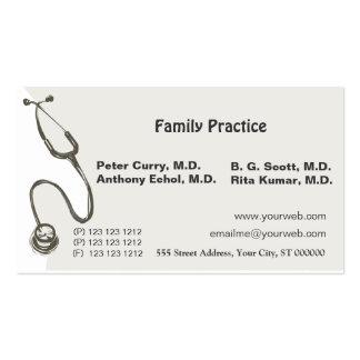 El doctor impresionante Medical Tarjetas De Visita