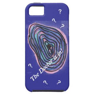 ¡El doctor Is In!  caso del iPhone iPhone 5 Case-Mate Funda