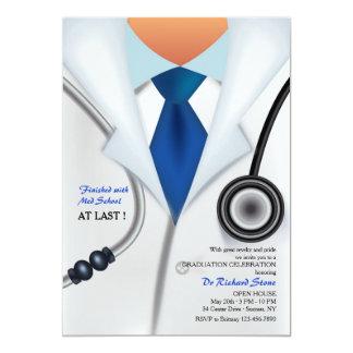 El doctor Is In Invitation Invitación 12,7 X 17,8 Cm