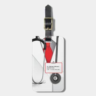 El doctor Luggage Tag de la medicina Etiquetas De Maletas