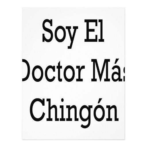 El doctor Mas Chingon del EL de la soja Flyer Personalizado