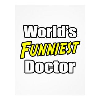El doctor más divertido del mundo tarjeton