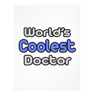 El doctor más fresco del mundo tarjeta publicitaria