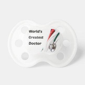 El doctor más grande Design del mundo Chupete