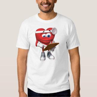 El doctor médico Cute del corazón Camisas