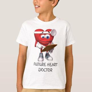 El doctor médico Cute del corazón Camiseta