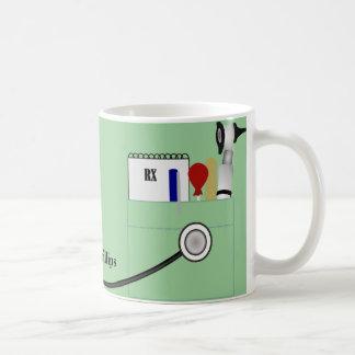 El doctor personalizado Mug Taza Básica Blanca