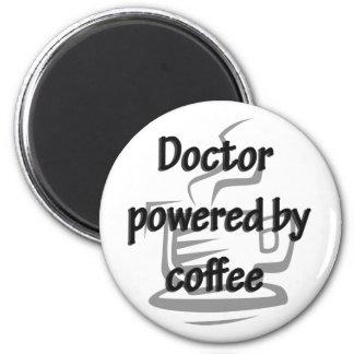 EL DOCTOR POWERED BY COFFEE IMAN PARA FRIGORÍFICO