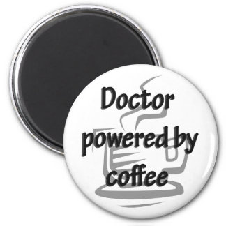 EL DOCTOR POWERED BY COFFEE IMÁN REDONDO 5 CM