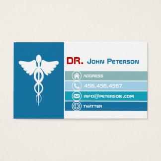 El doctor privado Therapist Ambulance Physician Tarjeta De Visita