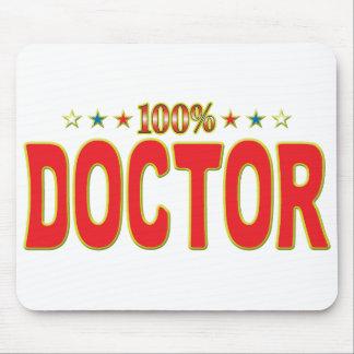 El doctor Star Tag Tapetes De Ratón
