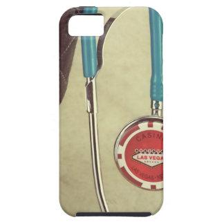 El doctor Stethoscope Casino Chip Nurse de bota de iPhone 5 Cobertura