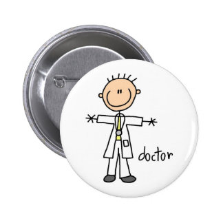 El doctor Stick Figure Pins