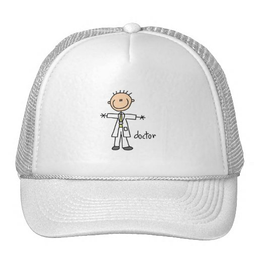 El doctor Stick Figure Gorra