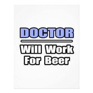 El doctor… trabajará para la cerveza tarjeton