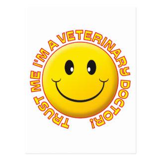 El doctor veterinario Trust Me Tarjeta Postal