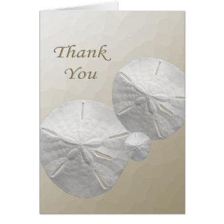 El dólar de arena le agradece las tarjetas