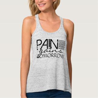 El dolor hoy, los aumentos junta con te mañana camiseta con tirantes