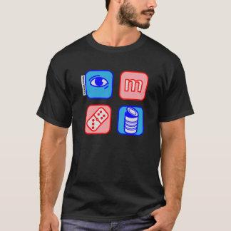 el dominó del ojo m puede camiseta