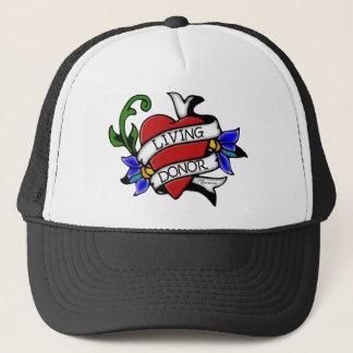 El donante vivo Tatuaje-inspiró el gorra