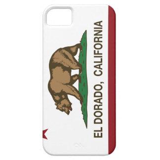 EL Dorado de la bandera de la república de Califor iPhone 5 Case-Mate Protectores