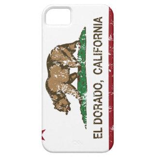 EL Dorado de la bandera de la república de Califor iPhone 5 Case-Mate Carcasas