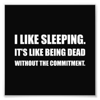 El dormir como el compromiso muerto fotos